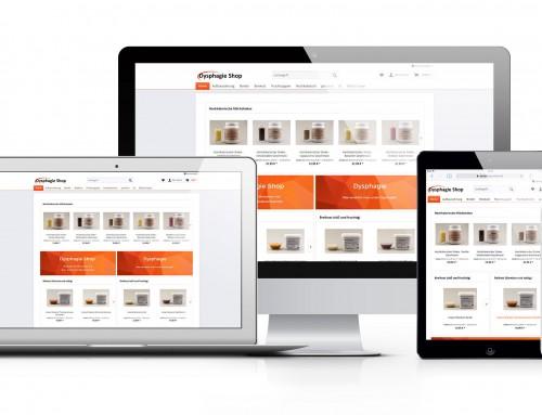 Webshop für die Dysphagie Shop Kau- und Schluckbeschwerden GmbH
