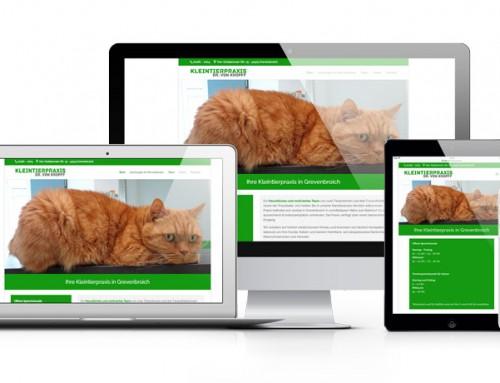 Kleintierpraxis Dr. von Kropff bekommt eine neue Webseite