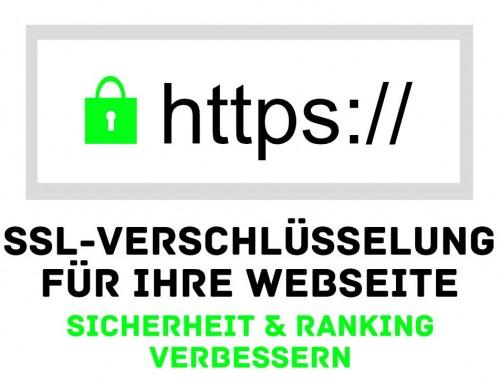Verschlüsseln Sie Ihre Webseite – SSL/HTTPS – mehr Sicherheit und besseres Ranking