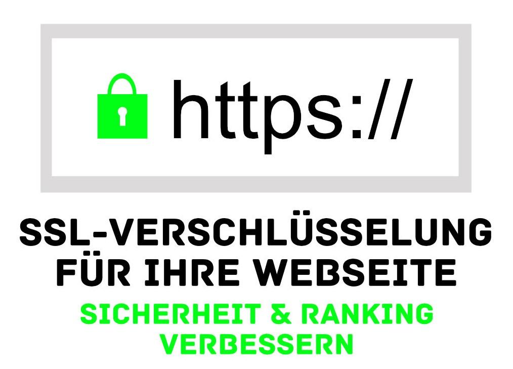 Webseiten - Verschlüsselung - SSL / HTTPS