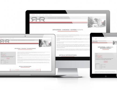 Neue Webseite für Praxis RHR in Grevenbroich-Gustorf