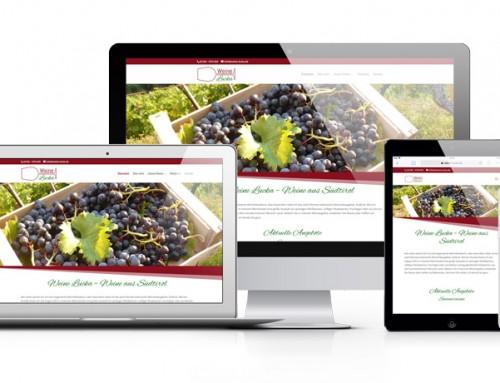 Weine Lucka präsentiert seine Weine aus Südtirol nun auch online