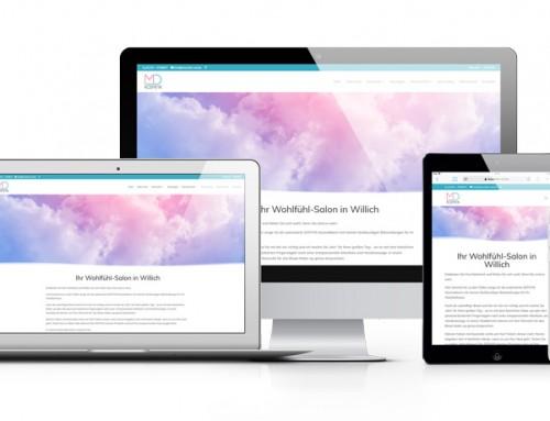 MD Kosmetik in Willich mit neuer Webseite