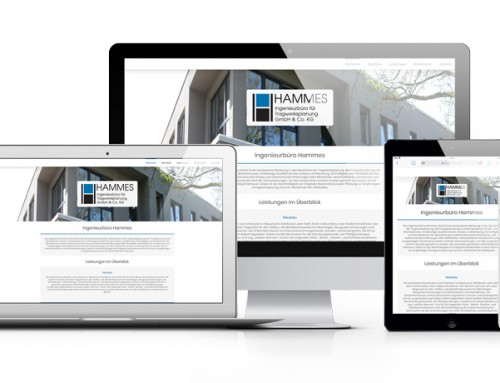 Neue Webseite für Ingenieurbüro Hammes