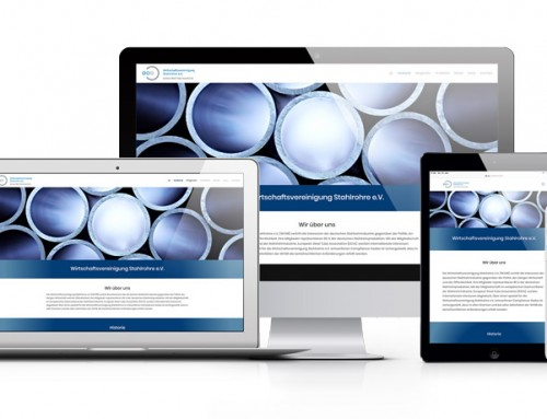Wirtschaftsvereinigung Stahlrohre e. V. – Relaunch der Webseite