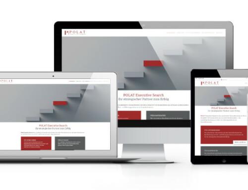 POLAT Executive Search aus Düsseldorf mit eigener Webseite