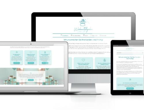 Werbemittelzauber Sabine Vieten mit neuer Webseite