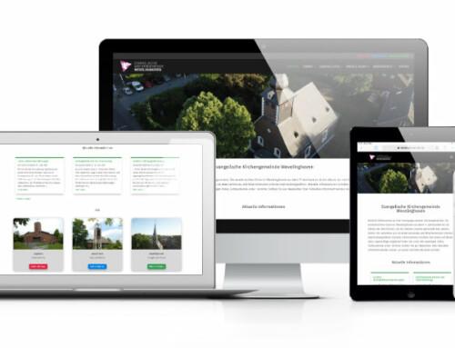 Neue Webseite für die Evangelische Kirchengemeinde Wevelinghoven